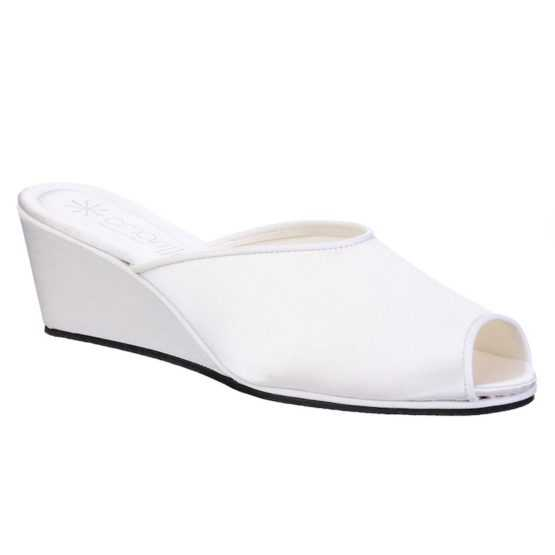 Pantofole da Sposa Claudia Bianca