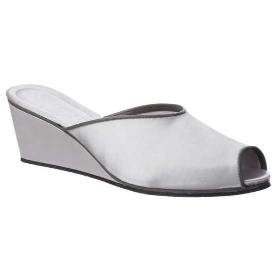 Pantofole da Donna Claudia Grigio Perla