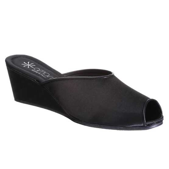 Pantofole da Donna Claudia Nera