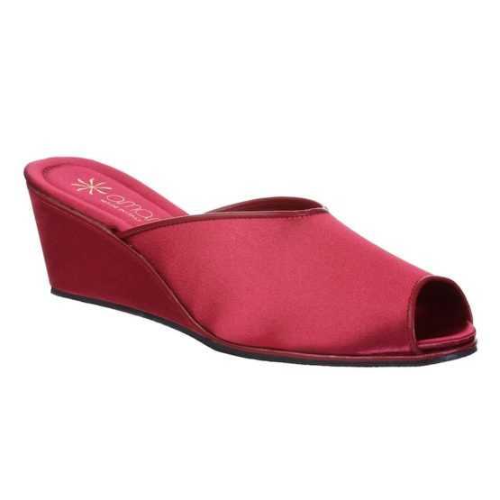 Pantofole da Donna Claudia Bordeaux