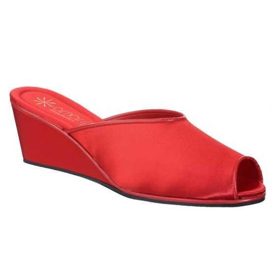 Pantofole da Donna Claudia Rossa