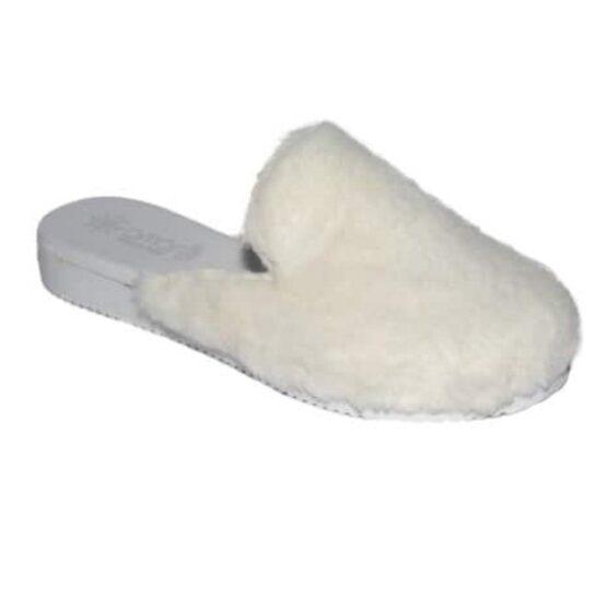 Pantofola da Donna Amarilli Rosa Ecopelliccia bianco