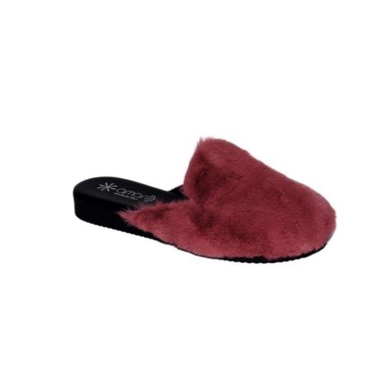 Pantofola da Donna Amarilli Rosa Ecopelliccia rosa