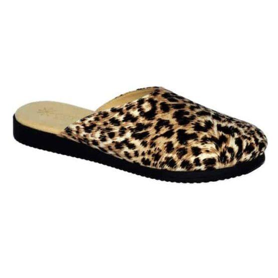 Pantofola da Donna Amarilli Rosa Pelle Maculata