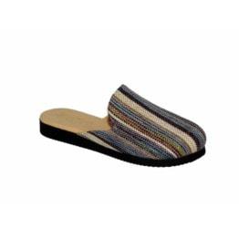 Pantofola da Donna Amarilli Rosa Tessuto Etnico